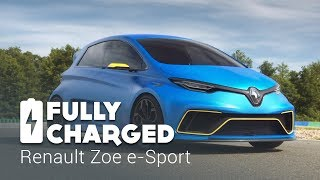 Download Renault Zoe e-Sport | Fully Charged Video