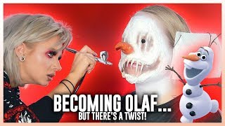 Download Glam&Gore Transforms Me Into FROZEN'S OLAF... but there's a twist! Video