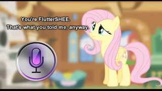 Download Fluttershy and Siri have a Conversation 🍉 Video