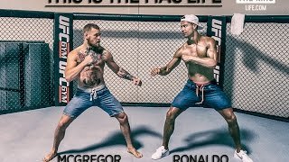 Download Cristiano Ronaldo meets Conor McGregor in Las Vegas - THIS IS THE MAC LIFE Video