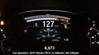 Download 2017/2018 Honda CR-V 0-60mph / 0-100kmh Acceleration Test! | The MOST complete review: Part 7/8 Video