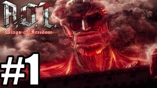 Download Attack on Titan: Wings of Freedom - Gameplay Walkthrough Part 1 - PS4 (English) Video