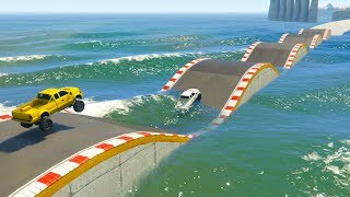 Download SALTA EL AGUA O MUERE! - CARRERA GTA V ONLINE - GTA 5 ONLINE Video