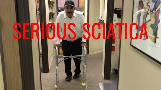 Download Ridiculous SCIATICA relieved in ONE VISIT by Orange County Chiropractor Video