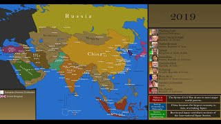 Download The History of Asia: Every Year Video