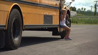 Download 6-Year-Old Girl Has Pants Shredded After School Bus Drags Her Almost a Mile Video