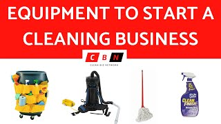 Download EQUIPMENT NEEDED TO START A CLEANING BUSINESS Video