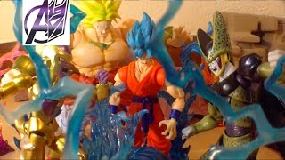 Download DragonBall Z [Stop Motion Film] SSGSS GOKU VS GOLDEN FRIEZA, CELL, & BROLY Video