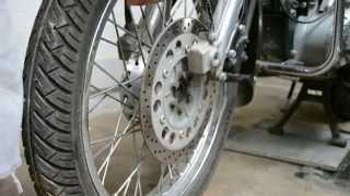 Download Changing Tyre Tube of Royal Enfield Classic 350 Video