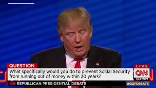Download Trump promised over and over to 'save' Medicare, Medicaid and Social Security. Will he? Video