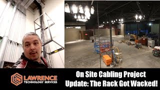 Download On Site Cabling Project Update: The Rack Got Wacked! & Pulling wires through tubes with pull string Video