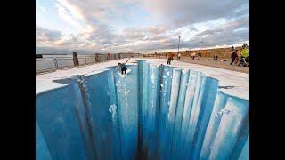 Download The Crevasse - Making of 3D Street Art Video