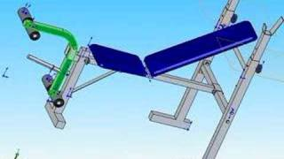 Download banco de pesas Video