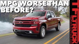 Download Disappointing Surprise! Some New 2019 Chevy Silverados Get Worse MPG Than Outgoing Trucks Video