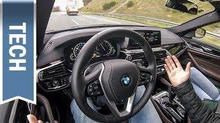 Download BMW Driving Assistant Plus im 5er BMW (2018) im Test: Automatisches Überholen Video