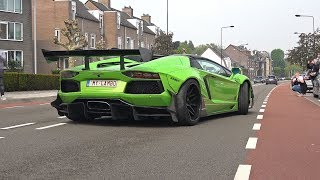 Download Supercars Accelerating LOUD! LibertyWalk Aventador, GTC4Lusso, Decat M2, X6M, M5 F90 & More! Video