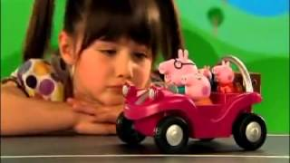 Download Peppa Pig Grandpa Dogs Garage playset Video