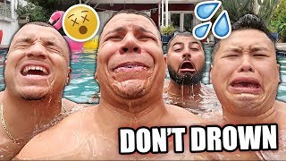 Download IMPOSSIBLE TRY NOT TO DROWN CHALLENGE *DON'T COME UP FOR AIR* Video