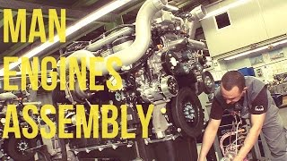 Download MAN Trucks & Buses Engines Assembly Video