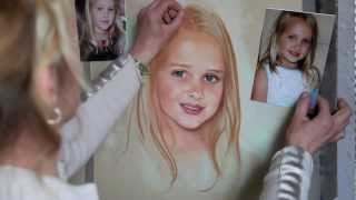 Download How to paint a Pastel Portrait - step by step Video