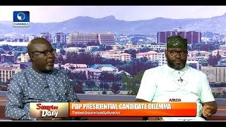Download Nwaokobia, Ologbondiyan Disagree Over The Viable Alternative To Ruling APC  Sunrise Daily  Video
