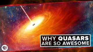 Download Why Quasars are so Awesome | Space Time Video