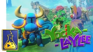 Download Yooka Laylee - Character Parade & Shovel Knight Trailer Video