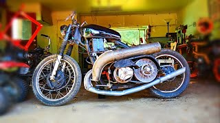 Download I put a snowmobile engine on a motorcycle Video