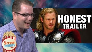 Download Honest Reactions: Thor Writer Watches Thor Honest Trailer Video