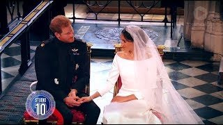 Download Prince Harry & Meghan Markle's Royal Wedding Highlights | Studio 10 Video