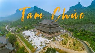 Download Flycam Bay Từ Đầu Đến Cuối Chùa Tam Chúc Bao Nhiêu Xa? - Drone Tam Chuc Pagoda Video