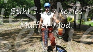 Download How to Modify Stihl 039 / MS390 Chainsaw Muffler & adjust Carburetor - Shredder II Video