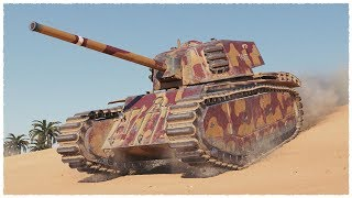 Download ARL 44 • 6100 damage on TIER 6 Heavy Tank • WoT Gameplay Video