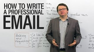 Download How to write professional emails in English Video