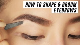 Download How to Shape & Groom Eyebrows at Home | Tina Yong Video