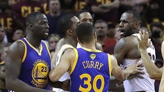 Download LeBron James Calls Draymond Green A Bitch, Pushes Steph Curry Video