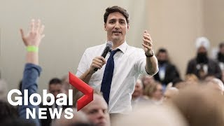 Download Trudeau defends immigrants after man claims Islam, Christianity 'will not mix' Video