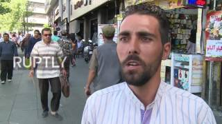 Download Iran: Tehran residents give their take on deadly attacks Video