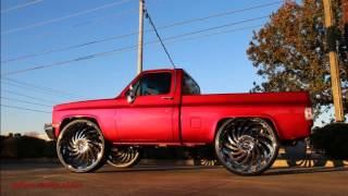 Download WhipAddict: Worlds First Chevrolet C/10 Silverado on DUB Delish 34s, by BK Rims Video