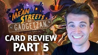 Download (Hearthstone) Mean Streets of Gadgetzan: Card Review Part 5 Video