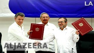 Download UpFront - Is Juan Manuel Santos too easy on FARC? - UpFront Video