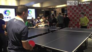 Download New York Cosmos ping pong pranked by Estee Ackerman Video