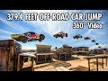 Download Record-breaking 379.4 Feet Car Jump in 360 | Bryce Menzies in New Mexico Video