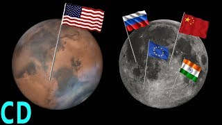 Download Mars or the Moon - Where do NASA manned missions go next? Video