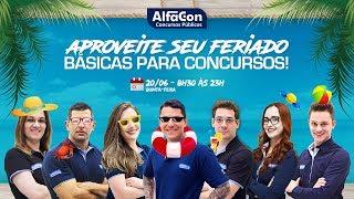 Download Básicas para Concursos! Feriado no Alfacon - AO VIVO - Alfacon Video