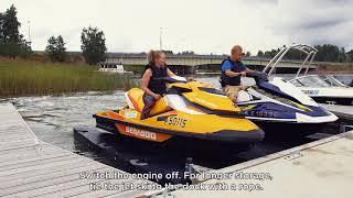 Download Jet ski dock Video