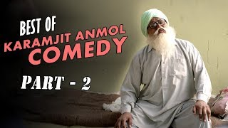 Download Best of Karamjit Anmol Comedy (Part-2) | Top Punjabi Comedy Scenes | Manje Bistre | Saga Music Video