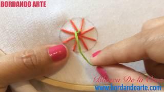 Download Punto de telaraña bordar a mano STITCH COBWEB SPIDER WEB Video