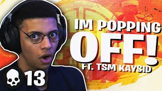 Download OK I'M POPPING OFF! INTENSE TOURNAMENT MATCH Ft. TSM Kaysid (Fortnite BR Full Match) Video