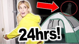 Download 24 Hours On My Roof! Finding a REAL GHOST at 3am (Overnight) Video